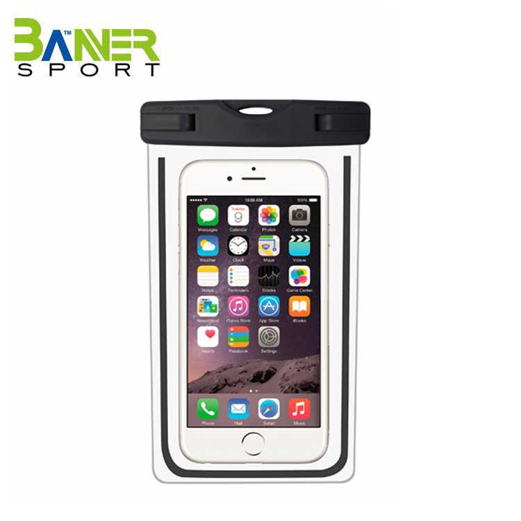 Cell phone lycra sport armband case 5.5 inch mobile waterproof armband case