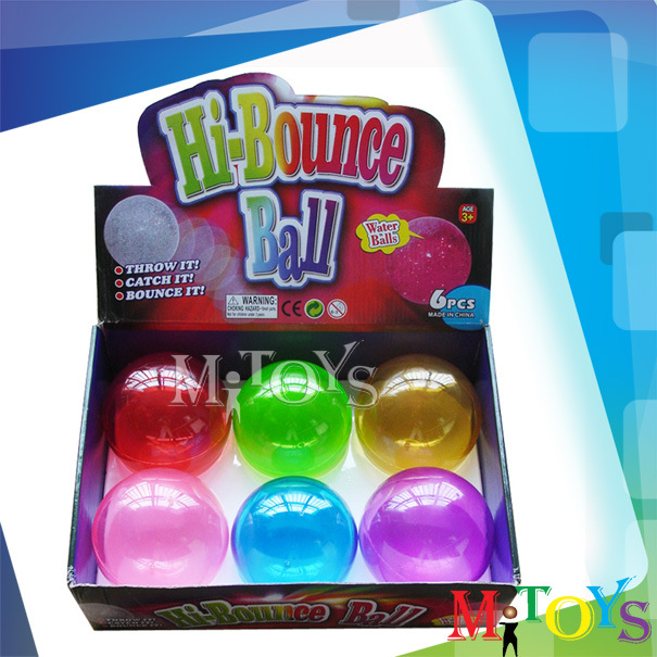 2014 Hot Sale Custom Bouncing Children Hollow Rubber Solid Plastic Ball