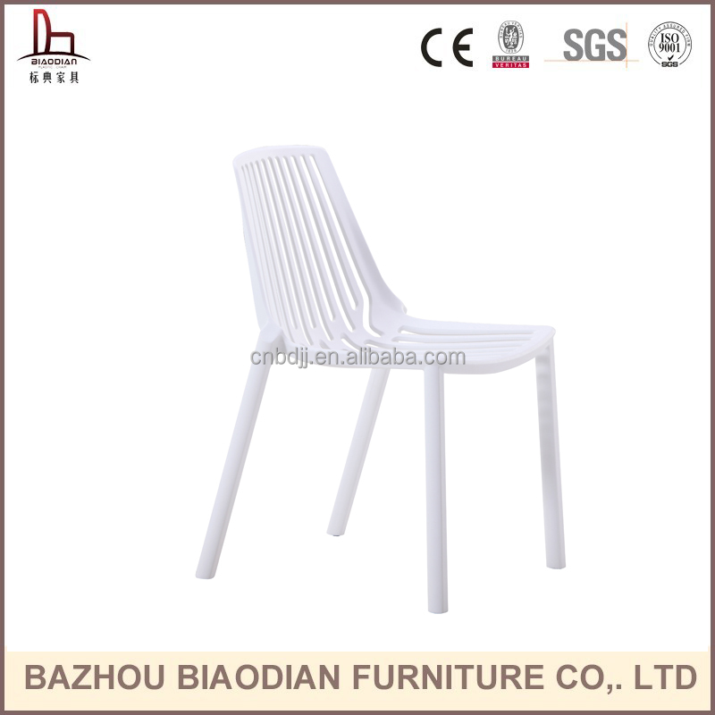 XH-8088 white cheap stackable outdoor plastic patio chairs, patio furniture garden chair/cafe chair