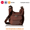 New Style Low Price Convenient Fashionable Handmade Brown Crossbody Shoulder Handbag for Women