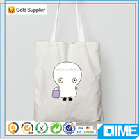 Alibaba hotsale cotton canvas tote college canvas sling bag