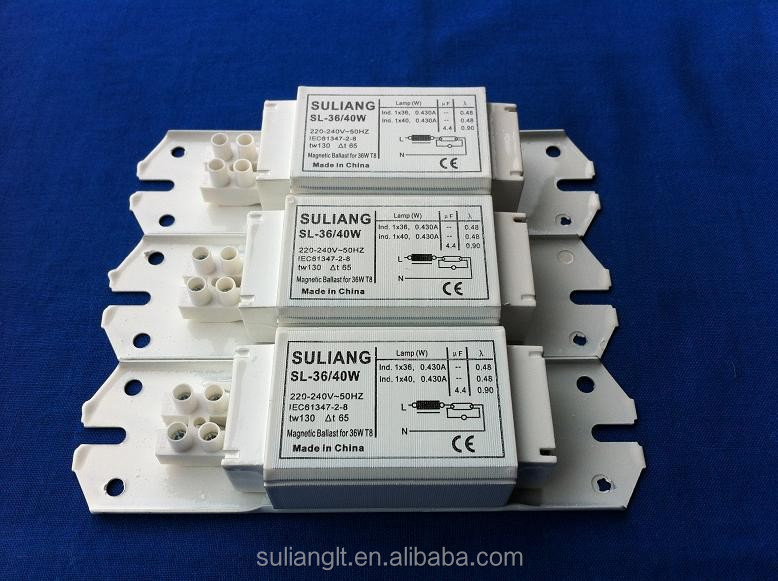 Magnetic Ballast for Fluorescent Lamp 36w T8 / T10 / T12/ T9 - C