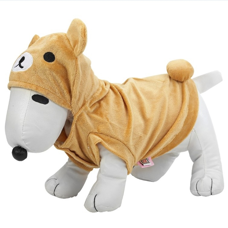 CE certificated plush stuffed animal wholesale blank dog clothes