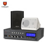 Chnlan Bluetooth mixer amplifier+20w wall speaker for home theater public address PA system