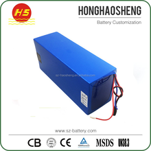 Rechargeable Lithium Motorcycle Battery Pack 20S 40Ah 72v 3000w battery