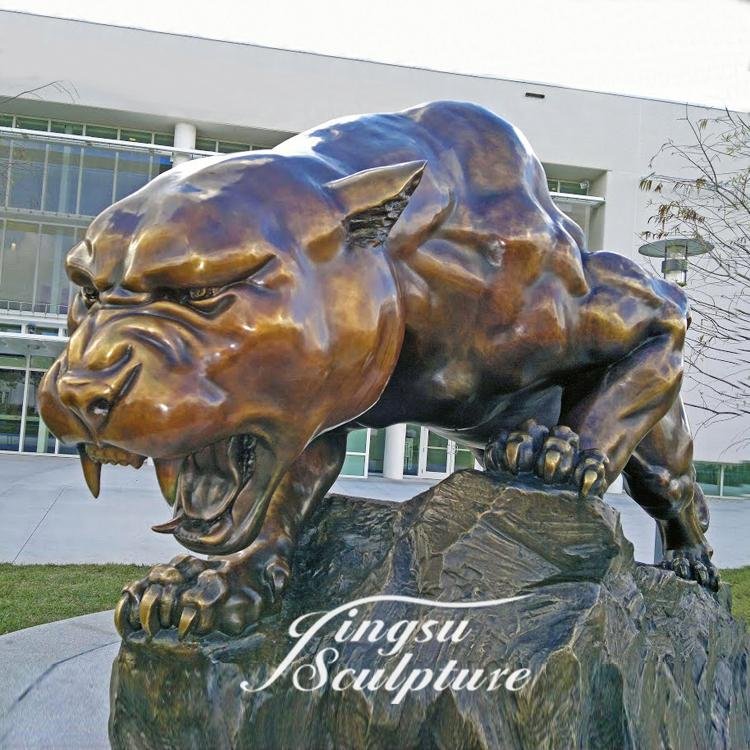 Hot selling life size panther statue for sale