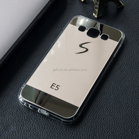 Cell Phone Accessories Good quality electroplating mirror tpu phone cover for galaxy J7