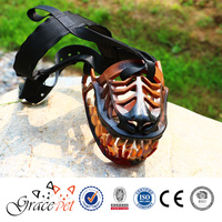 Halloween custome fierce dog muzzle for chewing