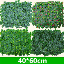 Wholesale artificial plants outdoor green plants wall