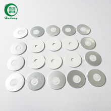 Silver vent foil seal liner for fertilizer bottle cap packaging