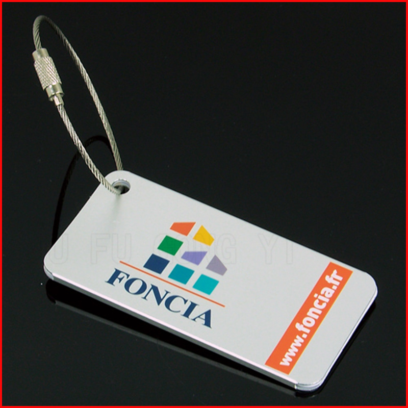 fashionalbe luggage tag with custom your own logo