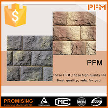 Club floor and wall design stacked textured natural slate interlocking paving stones
