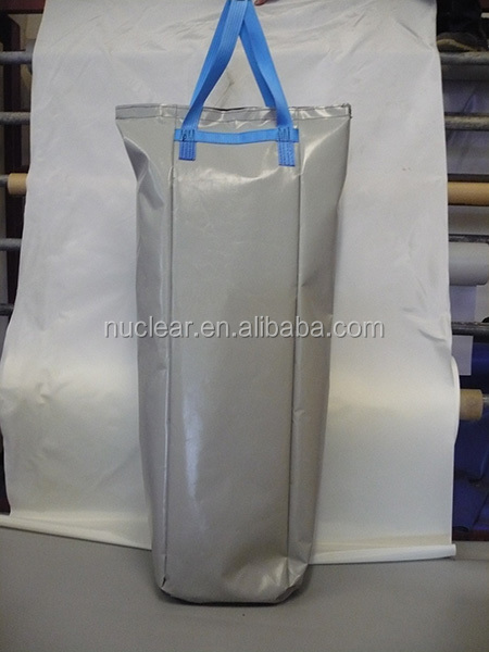 30L grey pvc tarpaulin swimming waterproof dry bag