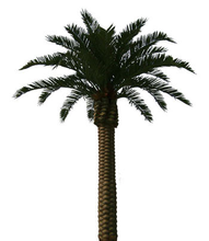 Artificial flower and tree plastic date palm trees for garden