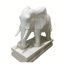 Iso9001 Quality Ensure China Granite Stone Statue Marble Elephant Animal Sculpture
