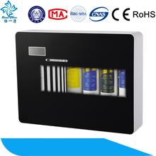perfect PH plastic digital diaplay undersink ro water filter system of health center