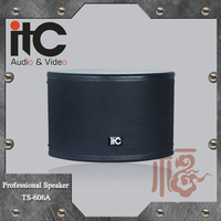 ITC TS-606A 120W 8ohm Excellent Vocal Part Expression Loud Speaker Karaoke