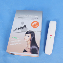 Portable Newest Laser Hair Comb Laser Comb / electric scalp stimulator