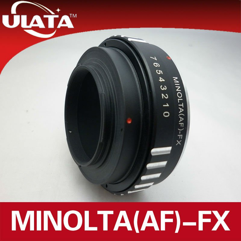 For AF/Minolta MA Lens to Fuji FX Mount Adapter Ring
