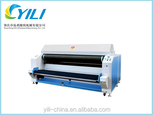 Small Industrial fabric shrinking machine ,Textile knitted and chemical fabric forming machine