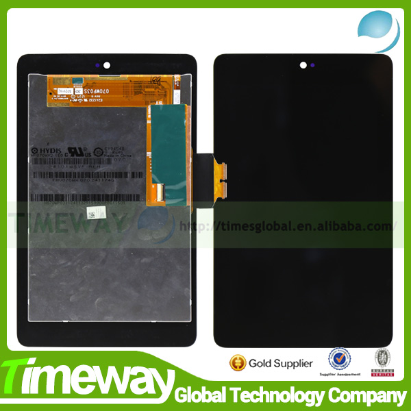 Timeway china manufactory replacement lcd with touch screen for asus google nexus 7 digitizer complete