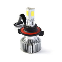 2015 Canton fair led motorcycle headlight bulbs H13,9004,9007 replace xenon kit