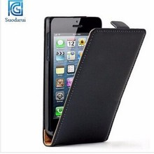 Cheap Flip Slim Mobile Phone For iphone 5s Leather Cover Case