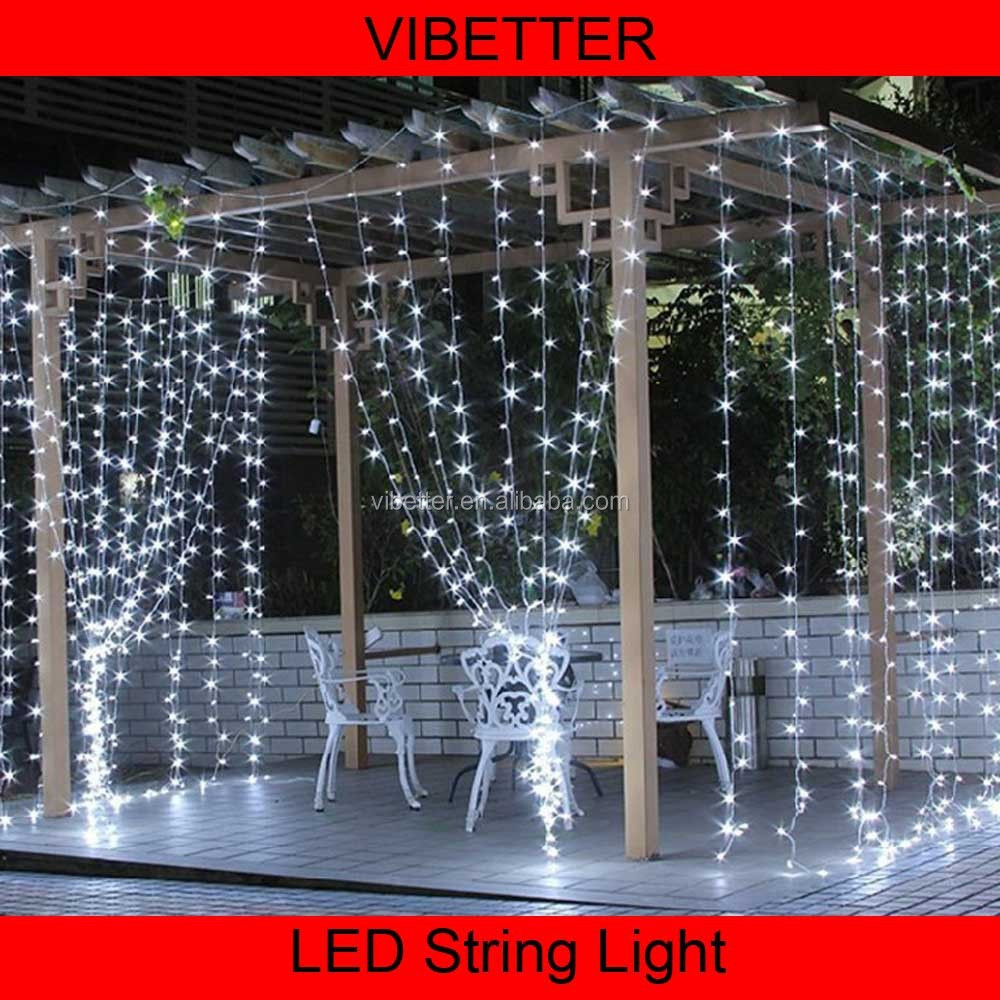 PVC LED Curtain Light Warm White PVC LED Curtain Light/led ball light outdoor/warm white led fairy lights
