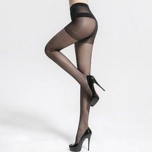 High elasticity ultra thin skin japanese girls transparent invisible women black nylon feet tube pantyhose