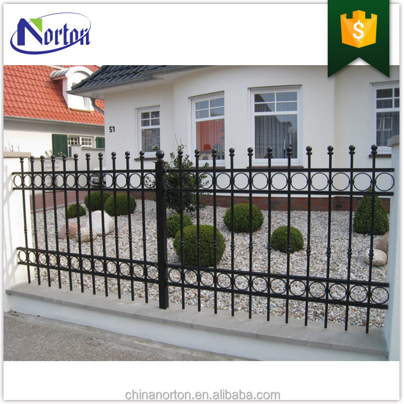 Modern high quality cast-iron garden decorates the iron fence design NTIF-016Y