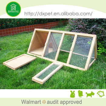 Eco-friendly large size easy clean rabbit farming cage