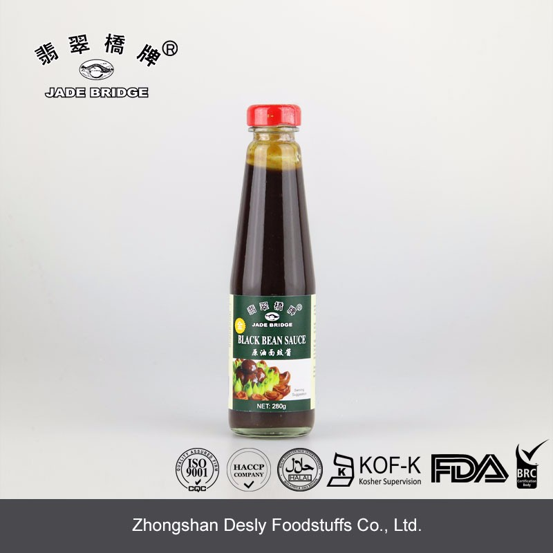 High quality 280g halal Black bean sauce