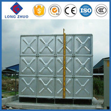 1.22*1.22m assembled hot dip galvanized stainless steel water storage tank