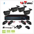 Shenzhne Wetrans DIY 1280*720P 4CH AHD Camera and DVR KIT Home CCTV Camera System