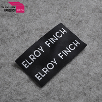 Ends Fold Type Neck Label Brand Label For Clothing Accessories