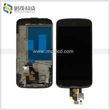 smart phone lcd for original LG Nexus4 /E960 Lcd screen with Digitizer Assembly with frame