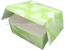 2012 sold hot magnetic and cheap folding paper box
