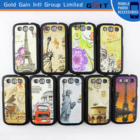 New Design PU Skinning Case For Samsung S3 i9300, Protective PU Case For Galaxy S3 i9300
