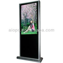 55 Inch Digital Signage All in One Electronic Advertising Board / 42 Inch Indoor LCD Shopping Cart Advertising