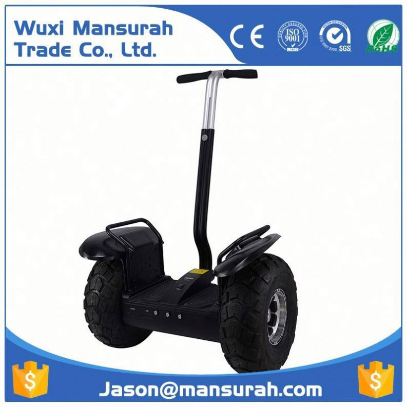 CE Marked New Design China Electric Chariot x2, 2 Wheel Electric Scooter