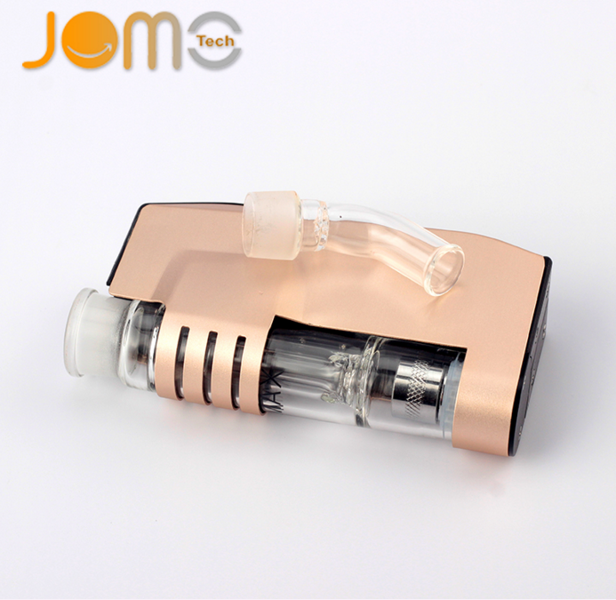 China e-cigarette supplier wholesale wax vaporizer with water cleaning system