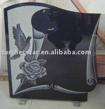 Sandblasted Tombstone and headstone