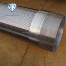 High Quality Stainless Steel Well Screen ,Stainless Steel Water Filter Pipe
