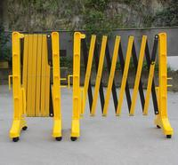 Plastic Expandable Safety Road Barricade Easily Foldable Flexible