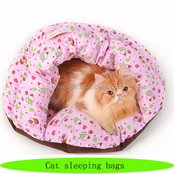 Pretty pet foldable bed, cute beds cats dogs, dog sleeping bags