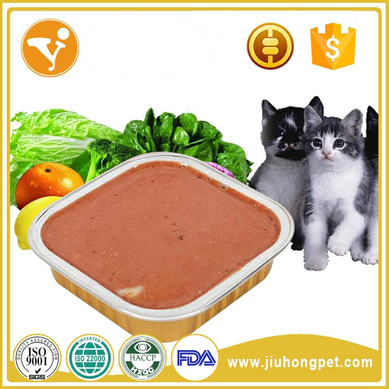 Newest best selling pet food canned bulk food for cats and adult dogs