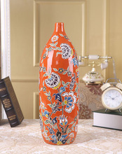 European style luxury type high temperature firing oriental ceramic vase