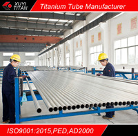 ASTM B338/ ASME SB338 the biggest titanium seamless tube of manufacturer in China