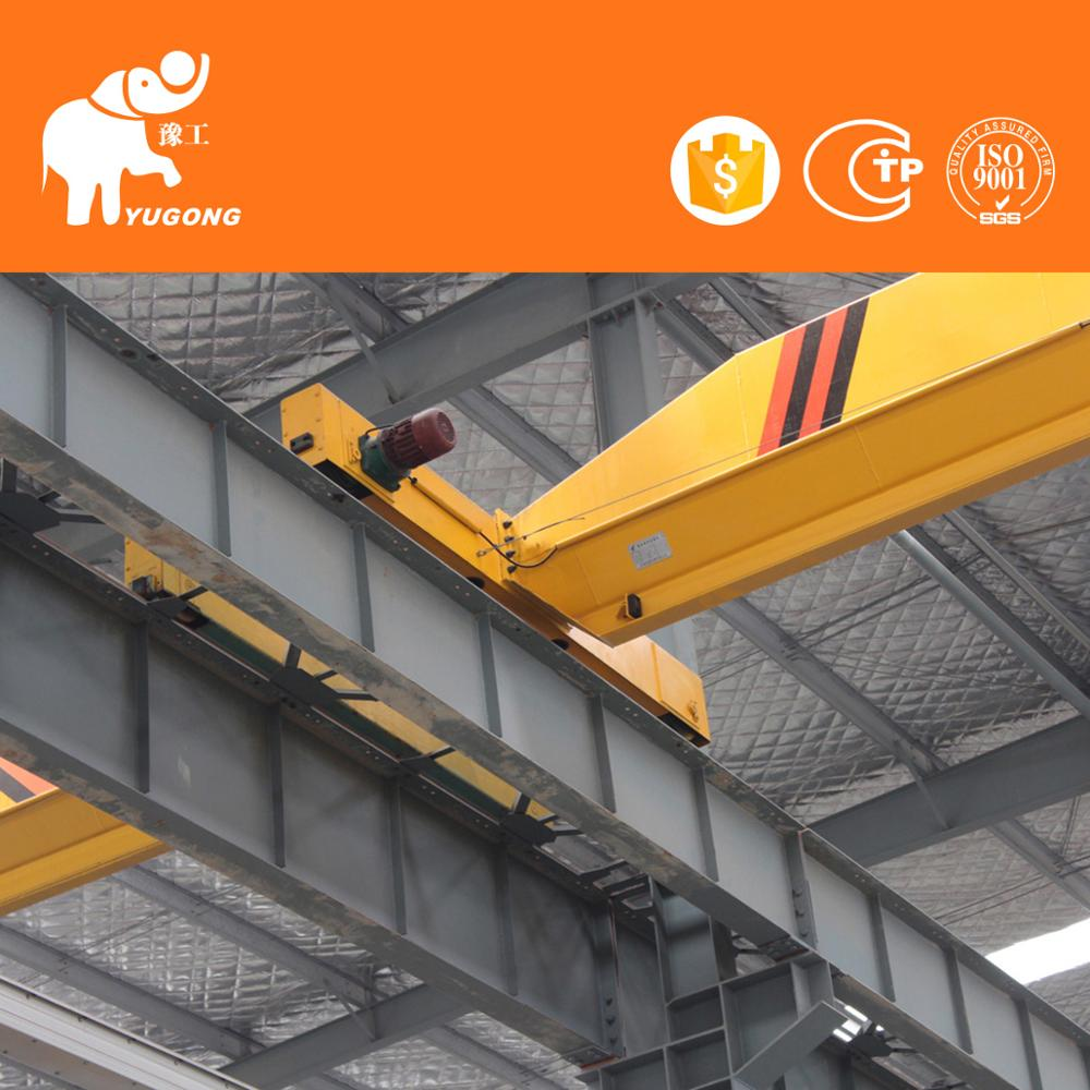 Top Quality Motor Driven 50 Ton Traveling Overhead Crane With Remote Control or Cabin Control