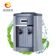2017 hot cake elegant mini hot cold water dispenser 5l philippines water cooler plastic body parts with logo printing